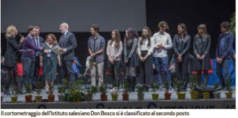 Il nostro cortometraggio ha vinto il 2° premio al concorso AGESC.