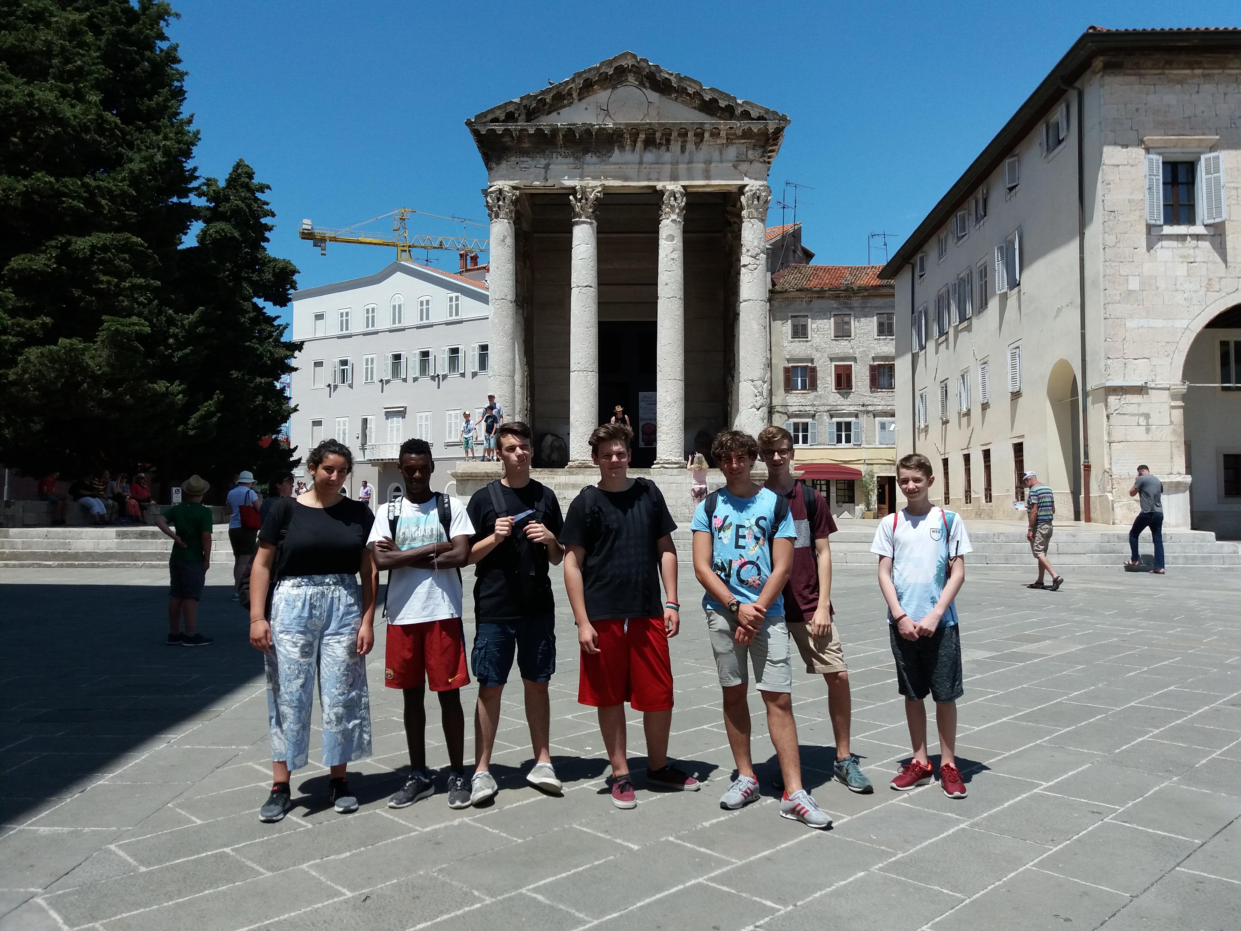Scambio culturale istituto don bosco e pazinski kolegij for Soggiorno in croazia