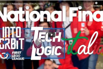 Tech-No-Logic's Presentation Video 2019 - FLL Italia